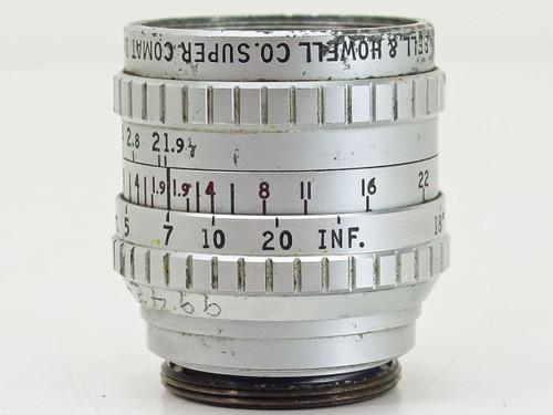 "Bell & Howell  1"" F1.9   Super Comat C-Mount Lens"