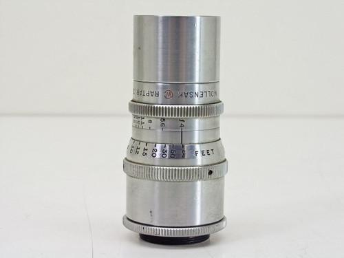 "Wollensak  Raptar 3"" F/4 Cine Telephoto   C-mount Lens"