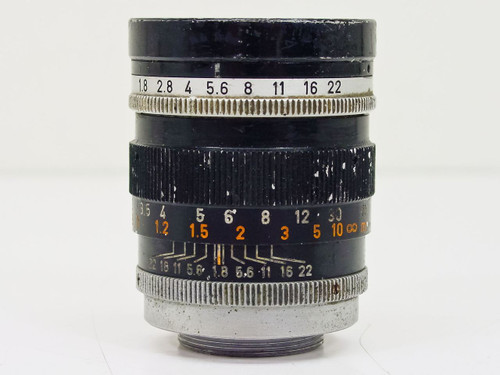 Canon  50mm TV-16   C-Mount Lens- some scratches on Lens