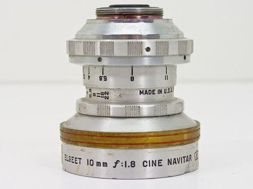 Elgeet Rochester  10mm F1.8 Cine Navitar   C-Mount Lens