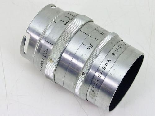 """Wollensak 2"""" F1.5 Cine Raptar  Vintage Lens"""