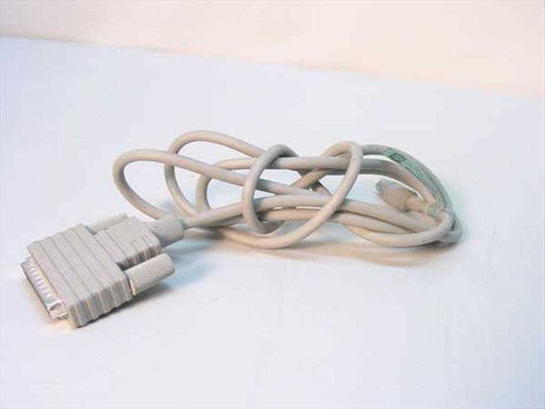 Apple DB25 Serial to 8-Pin Din Cable