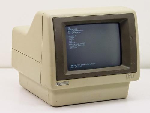 "HP  9816   9"" Terminal 9816-A12 256K CPU A91 Graphics"