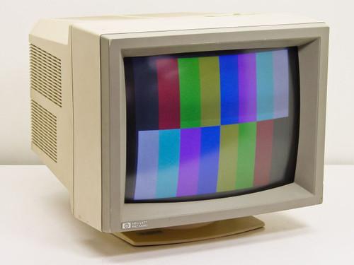 """HP 45988A-T  14"""" 9-Pin EGA/CGA Color Monitor"""