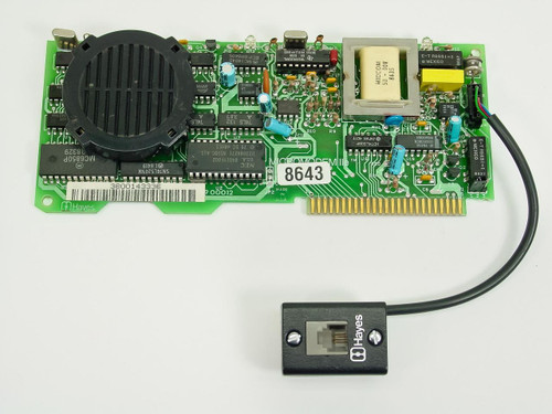 Hayes 8643  Micromodem IIe 300 bit/s Modem for Apple IIe