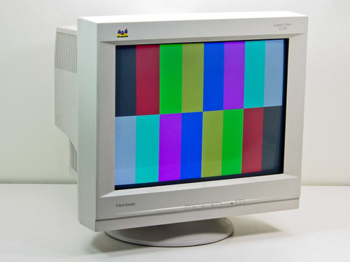 "ViewSonic VCDTS23852-1M  Graphics Series G220f 21"" CRT Display"