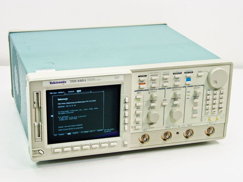 Tektronix  TDS640A  500mhz 4ch Digital Oscilloscope 2gs/s