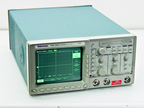 Tektronix TDS340A  100 MHz Digital Real-Time Oscilloscope 500MS/s