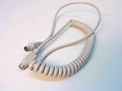 Apple 4-Pin Mini Din ADB Keyboard Cable 590-0616-A (590-0361-B)