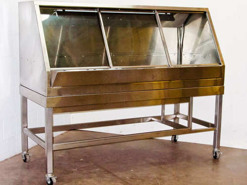 Cleanroom  Cabinet  Enclosed Stainless Steel Work Bench