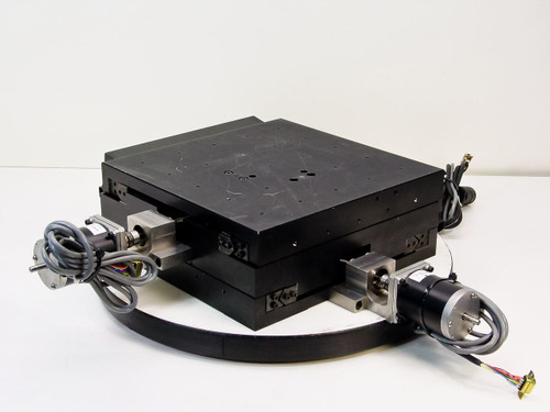 Compumotor  X-Y  Dual Axis Linear Stage with Compumotor Drives