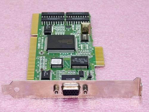 ATI Technologies 109P014210  ISA Video Card
