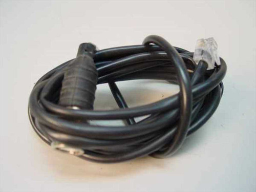 General Cable 6 Foot Network Coax to RJ11 Telephone Cable 4 wire 3CC 4SH