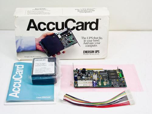 Emerson UPS PC188-1 / PB188-1  AccuCard