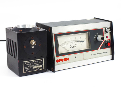 Ophir Optics Analog Laser Power Meter Monitor System