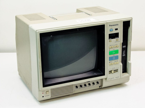 Panasonic  AG-500R  Television with VHS Video Tape Player