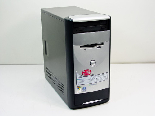 Emachines T2792  Intel Celeron 2.7 GHz 256MB 80GB Tower Computer