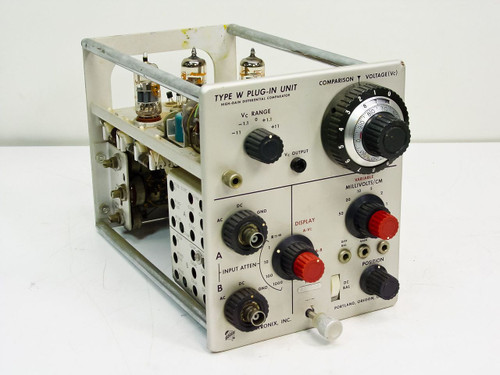 Tektronix  Type W Plug-in Unit   High-Gain Differential Comparator