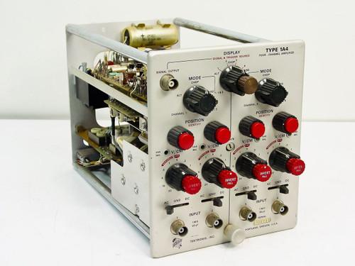 Tektronix  Type 1A4  Four-Channel Amplifier