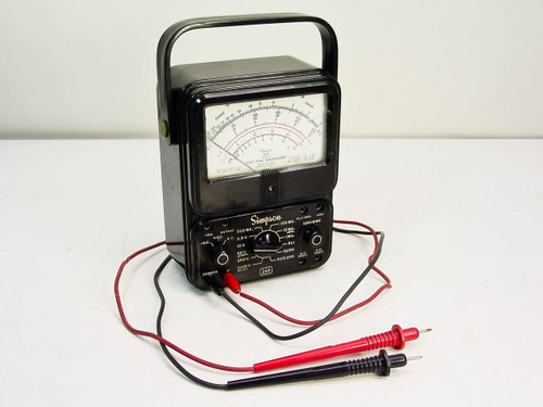 Simpson 260 Series 4  Volt-Ohm-Milliammeter