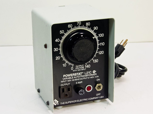 Superior Electric L21C  Powerstat Variable Autotransformer