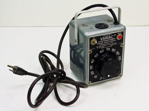 General Radio W5MT3  5 Amp Variac Autotransformer