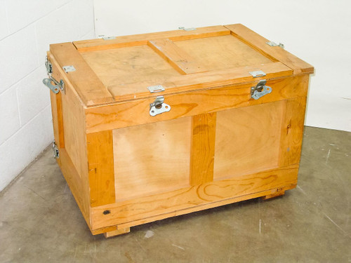 Wooden 35x24x23  Shipping Crate with Butterfly Latches