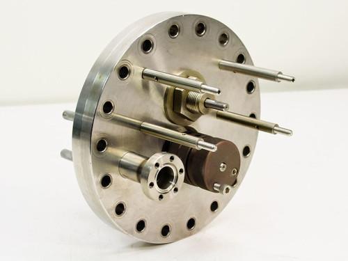 "Huntington Labs / MDC O.D. 6.75"", I.D. 15mm""  Vacuum Conflat Flange"
