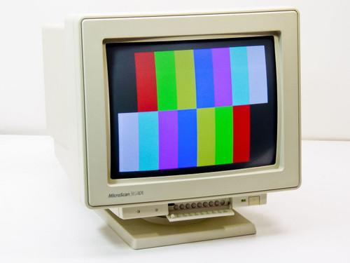 "Microscan SM-5514A  3E/ADI 14"" CRT Monitor"