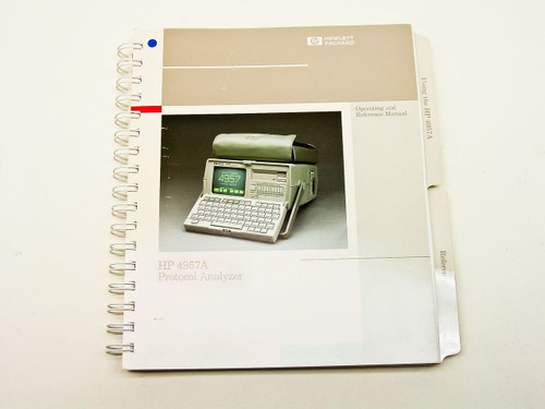 HP 4957A  Operating & Reference Manual