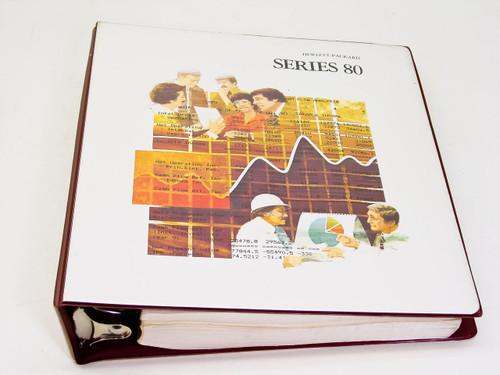 HP Series 80  I/O ROM & HP-86/87 Operating and BASIC Programming Manuals