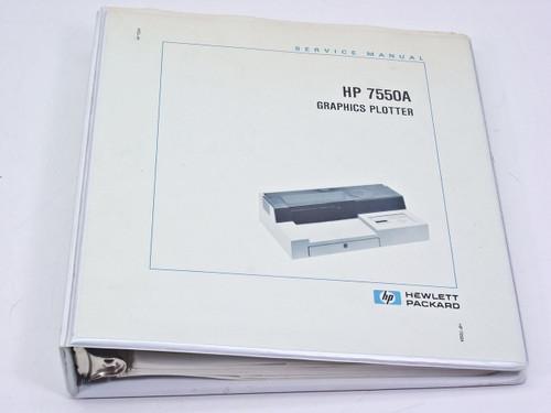 HP 7550A  Service Manual