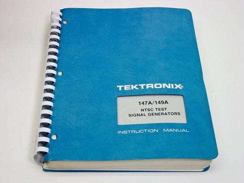 Tektronix 147A / 149A  Instruction manual