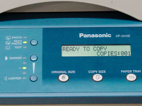 Panasonic DP-2010E  Workio 2010 Copier/Printer/Scanner