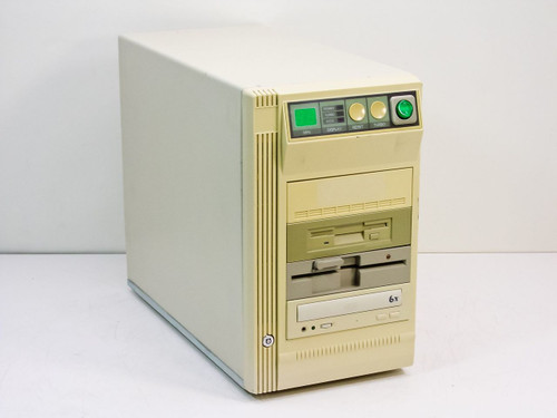 "Custom Tower Computer   Intel Pentium I 100 Mhz CD 5.25"" Floppy Drive"
