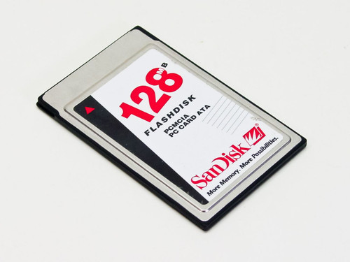 SanDisk SDP3B-128-201  128MB Flashdisk PCMCIA PC Card ATA