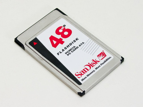 SanDisk SDP3B-48-584  48MB Flashdisk PCMCIA PC Card ATA