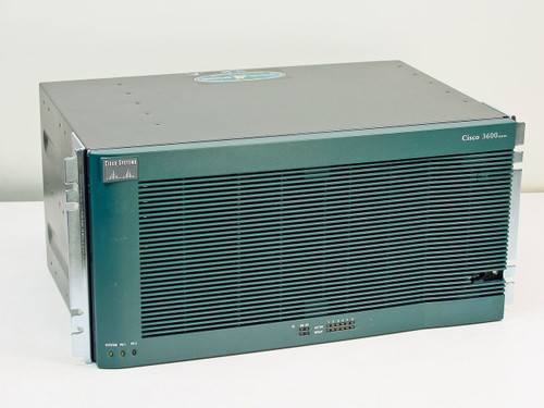 Cisco 3660-MB-2FE  3600 Series Router Chassis with Power Supply