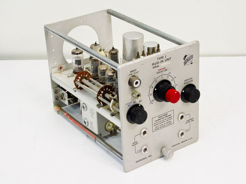 Tektronix  Type L Plug-in Unit   Fast-Rise Calibrated Preamp