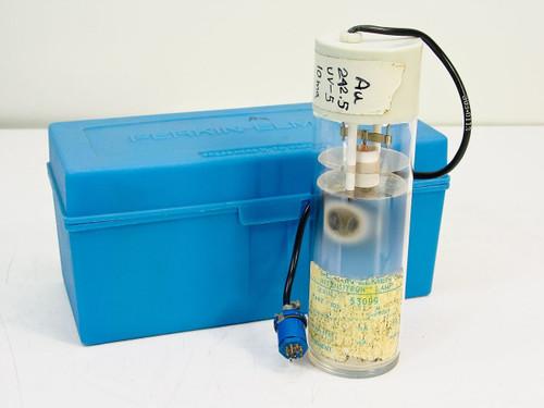 Perkin Elmer 303-6031  Intensitron Lamp - Element Au - Gold