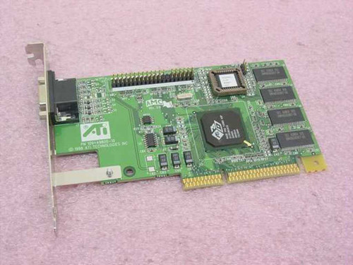 ATI AGP Video Card 3D Rage Pro Turbo (109-49800-10)