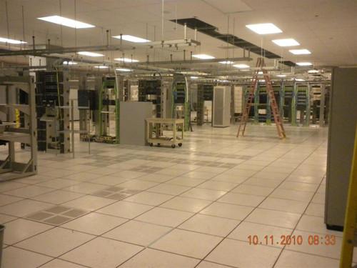 Computer Room 8000 SF  Raised Data Center Flooring Tiles w/Liebert System