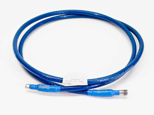 Suhner 104A  6 Foot Sucoflex RF Cable