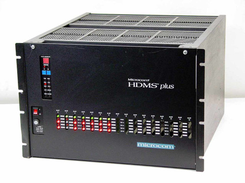 Microcom HDMS Plus  Command Chassis - Networking