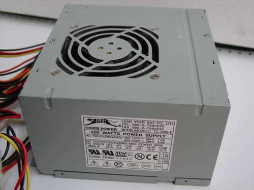 Tiger Power 200 W ATX Power Supply TG-2006-D