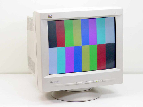 """ViewSonic VCDTS21654-2R  A70 17"""" CRT Color Monitor"""