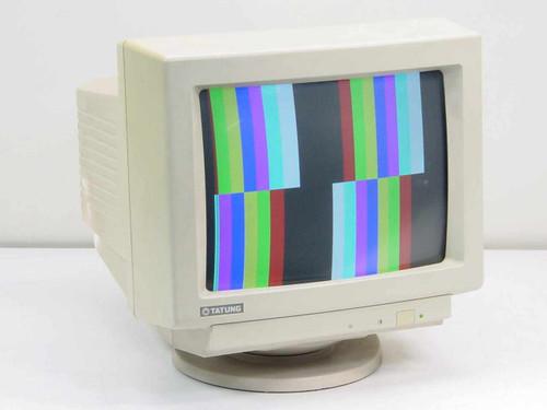 """Tatung CM-1496V  14"""" CRT Color Monitor - Rare"""