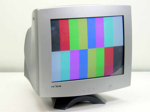 "Proview 786N  17"" CRT Color Monitor PRO-735 Series EF-772NS"
