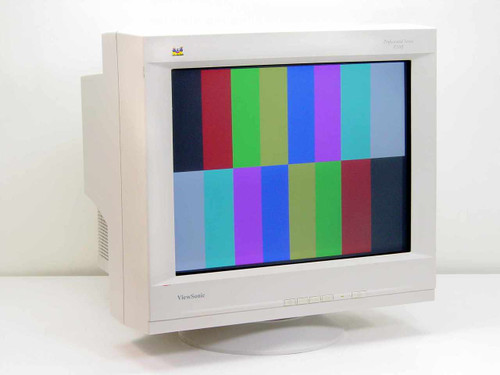 "ViewSonic VCDTS21692-1M  P220F Professional Series 22"" CRT Monitor"