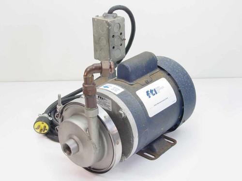 FTI AC4STS  Centrifugal Pump w/Leeson Electric Motor